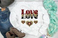 Valentine Sublimation png Love Plaid Cheetah Hearts Retro Product Image 2