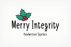 Merry Integrity Product Image 1