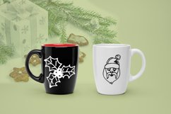 New Year doodle clipart. Christmas vector illustrations. Product Image 5