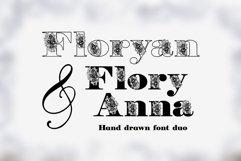 Floryan & FloryAnna Font Duo Product Image 5