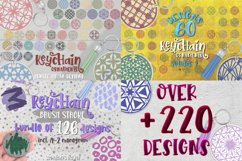 Keychain Svg Bundle of 220 designs Geometric patterns Product Image 1