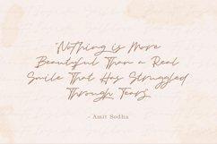 Senja - Monoline Handwritten Script Product Image 5