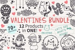 VALENTINES day svg BUNDLE , Valentine Clipart, Valentine's D Product Image 1