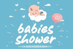Babies Shower Product Image 1