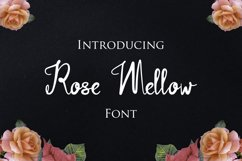 Rose Mellow Font Product Image 1