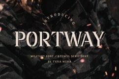 Portway - Stencil Serif Product Image 1