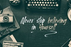 Loutters   Handwritten Brush Font Product Image 4