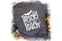 Trick or Teach SVG Cut File Product Image 3