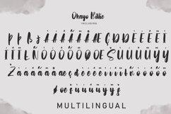 Ohayo Billie | Handwritten Font Product Image 3