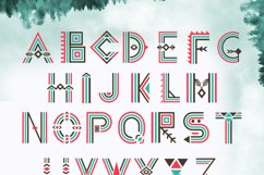 Tribal Aleut OTF color font.  Product Image 5