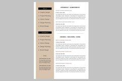 Creative resume template / CV. Bundle offer Product Image 3