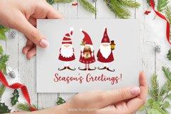 Scandinavian Christmas Gnome Clipart - Vector Clip Art & SVG Product Image 2