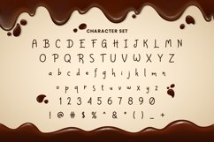 Web Font Chocolatery Product Image 4