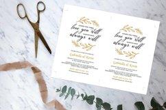 Renew Vows Invitation Template, Anniversary Invite Product Image 3