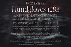 Deep Den Font Product Image 2