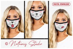 25 Cute mouths for Medical Face Mask. SVG Kawaii Style. Product Image 3