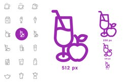 Drink Icons set Product Image 3