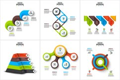 Abstract infographic templates Product Image 3