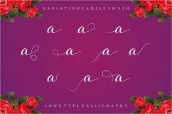 Web Font Adele Script Product Image 3
