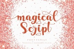 Magical script font family Product Image 1