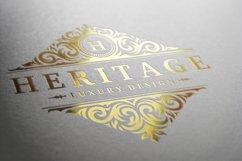 Vintage Ornament Logo Template Product Image 4