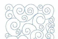 Quilt Block Stippling in 3 sizes Product Image 3