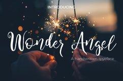 Wonder Angel Script Font Product Image 1