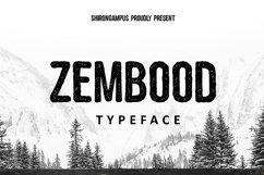 Zembood Typeface Product Image 1