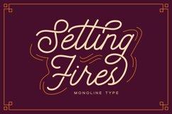 Seting Fires - Monoline Type Product Image 1