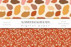 Summer Digital Paper Set - Summer Backgrounds Product Image 3