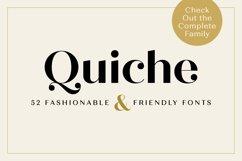 Quiche Fine Black Font Product Image 4