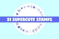 Procreate Brushes   Cute Procreate Stamps, Kawaii Brushset Product Image 2