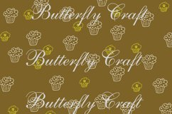 Cupcake Digital Papers, Tea Time Papers, Muffins digital Product Image 4