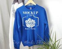 Gildan Sweatshirt Mockup Bundle - Gildan 18000 Mock Up Product Image 5