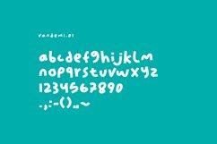 Vandemi Handwritten font Product Image 4