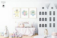 Rainbow Unicorn Clipart | Unicorn SVG Bundle Product Image 3