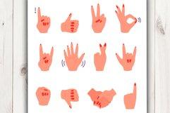 Vector cartoon hand gestures Product Image 3