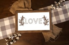 Sign Doodles - A Dingbat Font - Great For Farmhouse Signs! Product Image 5