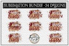 Motivational Quote Sublimation Bundle | 24 Unique Designs Product Image 4