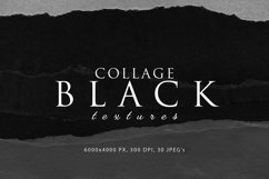 Black Paper Collage Textures Product Image 1