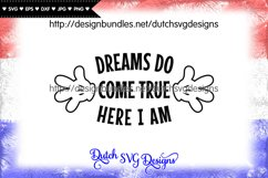 Cutting file Dreams, dreams svg, wish svg, baby svg Product Image 1