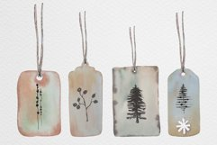 Watercolor gift boxes and tags Product Image 3