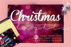 Christmas lights: lettering + more! Product Image 1