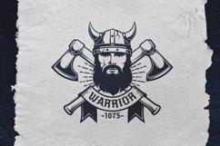 Viking Warrior Logo Template Product Image 1