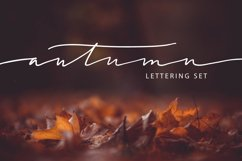 Lettering Pack about Autumn Product Image 1