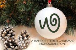 Christmas Love - Christmas Monogram Font Product Image 1