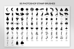 Linocut Style Stamp Brushes for Procreate and Photoshop Product Image 4