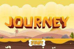 Rock Boulder - Gaming Font Product Image 3