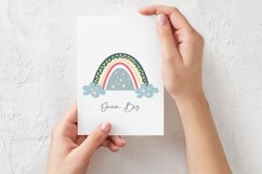 Cute Scandinavian Christmas Rainbows set in SVG, PNG, EPS Product Image 3