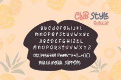Club Style - 2 Cute Fun Font Product Image 2